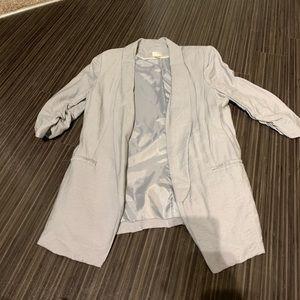 Casual linen blazer